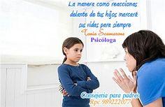 Los niños aprenden por imitacion a reaccionar como los adultos. Procura darles un mejor ejemplo.