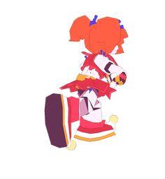 Poly Babs Anniversary Special by Mochiyy on DeviantArt Fnaf Gif, Anime Fnaf, Anime Manga, Fnaf Baby, Fnaf Sister Location, Circus Baby, Fnaf Characters, Fnaf Drawings, Undertale Cute