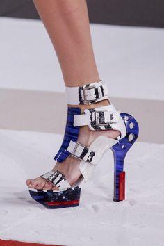 Warrior Shoes From Alexander McQueen Spring Summer 2014 7437708e0d6