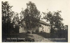 Vikersund, Villa Fjellheim Vikersund badesanatorium brukt 1934