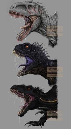 Jurassic World Hybrid, Blue Jurassic World, Jurassic World Dinosaurs, Dinosaur Time, Dinosaur Funny, Dinosaur Art, Jurassic World Wallpaper, Jurassic Park 1993, Hybrid Art