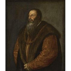 Titian - Pietro Aretino : The Frick Collection