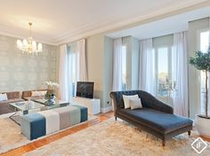 Apartamento amueblado en alquiler cerca del parque del Retiro, Madrid