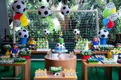 Resultado de imagen para festa futebol rustica