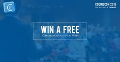 Win a FREE Pass Every Week for the Most Interactive Coding Conference from December 2-4, Orlando. #CodingCon2015  Sign Up Now!   #MedicalConference #Healthcare #ICD10CM #ObGyn