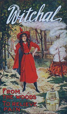 Red Witch Vintage Ephemera