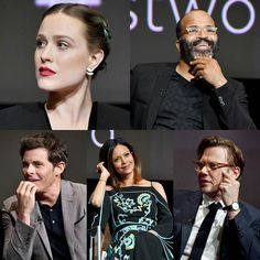"30 mai 2017 : le cast de ""Westworld"" à un panel de questions/réponses pour HBO #actors #actresses #evanrachelwood #jeffreywright #jamesmarsden #thandienewton #jimmisimpson #westworld #hbo"