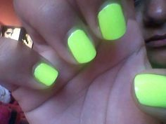 Neon Green- sinful colors
