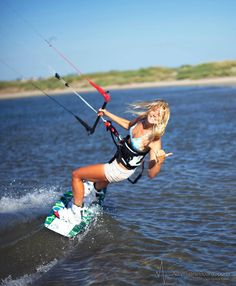 Kiteboarding shapes well :D