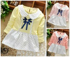 Baby Girl Toddler Cute Polka Dot Summer Dress. Baby Girl Toddler Cute Pink Polka Dot Dress Perfect for birthdays, parties and other special occasions Perfect summer dress Available colours: Pink, Light Pink and Yellow Super amazing quality. 100% customer satisfaction guaranteed Buy with confidence