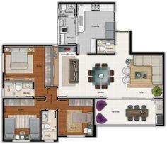 Planta casa pequena #plan