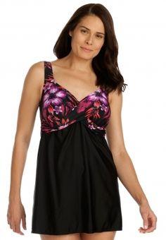 awesome swim dress plus size