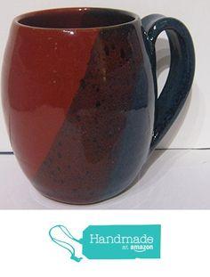 Handmade pottery coffee mug, barrel shape by Traditions Pottery from Bolick & Traditions Pottery https://www.amazon.com/dp/B06XJTPRDP/ref=hnd_sw_r_pi_dp_U7fXyb7SW62RQ #handmadeatamazon