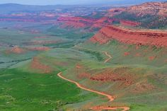 lander wyoming - Red Canyon. I always hate leaving Lander but loved the view of this magical canyon. PS