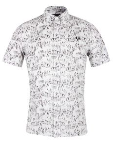 Fred Perry Margate on the Run Weekend Print Shirt.