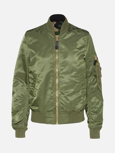 4747eff8755a Übergangsjacken · Reversible Bomber Jacket from ALPHA INDUSTRIES   aboutyoude in green