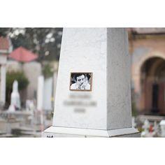 #rimini #cimitero #monumentale La miglior foto di sempre affissa ad una lapide! by chiccozapp