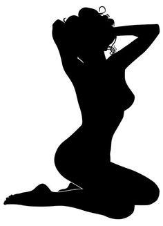 "Photo from album ""СИЛУЭТ(silhouette)"" on Yandex. Silhouette Clip Art, Woman Silhouette, Sexy Drawings, Art Drawings, Plasma Cutter Art, License Plate Art, Flower Rangoli, Shadow Art, Stencil Art"