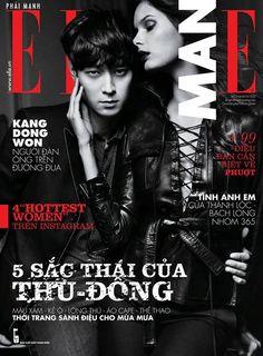 Male Fashion Trends: Kang Dong Won (강동원) en portada de Elle Man Vietnam Septiembre 2013