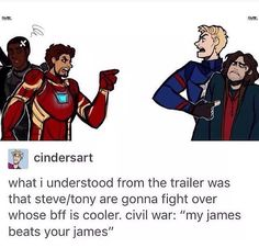 Marvel is trying to make us think they're fighting over some really intense and important stuff, but really, it's just this.