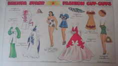 Brenda Starr by Dale Messick w/ Uncut Paper Doll from 8/23/1942 Full Size Page! in Dolls & Bears, Paper Dolls, Vintage | eBay