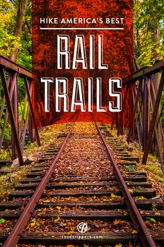 In the US alone, there's thousands of miles of abandoned railways, built during the heyday of the railroad, and since left to rust. Great hiking trails!