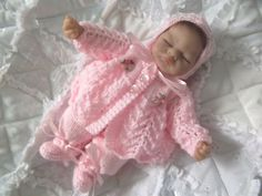 DASHELE DESIGNS - KNITTING PATTERN FOR 10  EMMY/BERENGUER/OOAK DOLLS