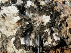 Pegmatites are late stage crystal growth rocks in granites