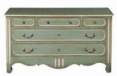 Bedroom\Provencal Five Drawer Chest, Grange Furniture Inc