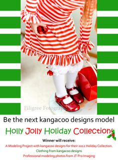 Be the next kangacoo designs model!