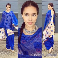 Salwar Kameez - Bambi Bains Indian Suits, Punjabi Suits, Indian Dresses, Bambi, Indian Fashion, Punjabi Fashion, Womens Fashion, Anarkali, Saree