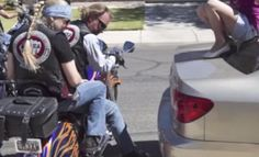 VIDEO: When Bikers Approached A Little Girl She Was Scared, Then They Do Something Amazing