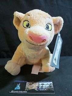 """Disney Store Authentic Nala of Lion King plush 7"""" bean bag new with tags"""
