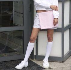 #skirt #shoes #fashion #sporty