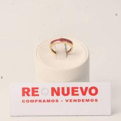 Alianza de segunda mano de oro con rubíes princesa E278409A | Tienda online de segunda mano en Barcelona Re-Nuevo