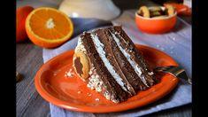 Nesquik torta - YouTube Torte Cake, Tiramisu, Cake Recipes, French Toast, Deserts, Pudding, Make It Yourself, Cooking, Breakfast