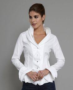 Isabella White Shirt