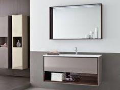 Image result for modern single sink bathroom vanities