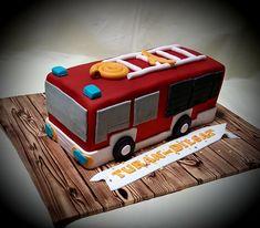 Feuerwehrauto torte