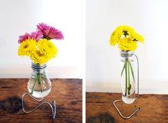 Φτιάξτε μόνοι σας βάζα από λάμπες φωτισμού | SunnyDay