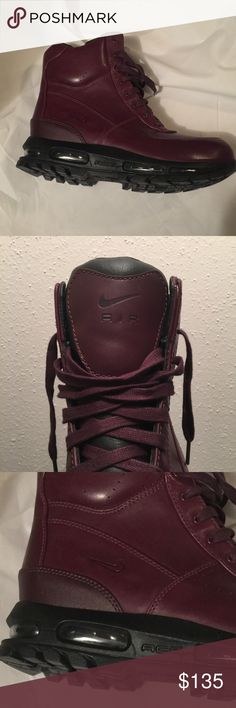 28b5b660c1c9 NEW Nike Air Max ACG Goadome Hiking Boot Men Shoes Brand  Nike Style   Goadome