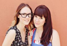 Elsie and Emma of abeautifulmess.com - lovely craft/lifestyle blog, check it out if you haven't already!