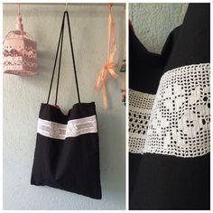 El yapımı dantelli omuz çantası' ruched shoulder bag ' handmade'''