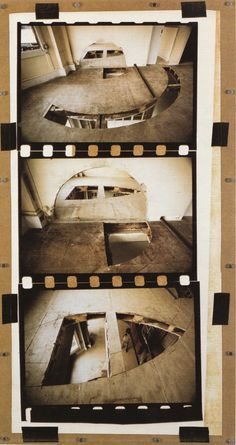 "Gordon Matta-Clark ""Office Baroque"" 1977 inspo for a film reel book of work Gordon Matta Clark, Derelict Buildings, Environmental Art, Land Art, Graphic Design Art, American Artists, Installation Art, Painting Inspiration, Sculpture Art"
