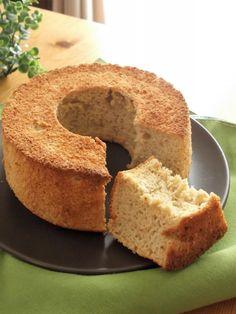 ほぼ、お米と卵(笑) 甘酒米粉シナモンシフォンケーキ | まんまる えがお キッチン