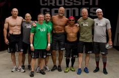 All these guys, Crossfit = Younger Next Year! Crossfit Routines, Gym Workouts, Fitness Goals, Fitness Motivation, Health Fitness, Crossfit Men, Men Over 50, Senior Fitness, Build Muscle