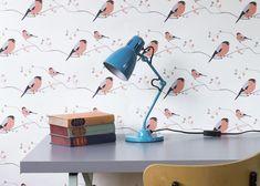 Designer Bullfinch Wallpaper - Bullfinch - FREE UK SHIPPING