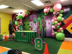 Kids Zombie Party, Zombie Themed Party, Zombie Birthday Parties, 2nd Birthday Party Themes, Second Birthday Ideas, Disney Birthday, 9th Birthday, Zombie Party Decorations, Cheers Theme