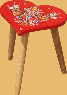 mobila pictata saseasca Transylvanian painted furniture 12 Painted Furniture, Stool, Painting, Honey, Fabrics, Studio, Home Decor, Paintings, Accessories