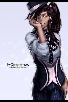 Classy Korra by *Artipelago